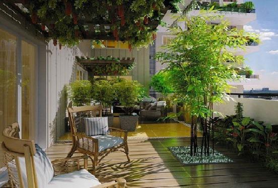 Tiểu cảnh sân vườn có thể được bố trí ở bất cứ khu vực nào của nhà